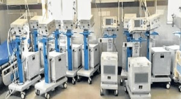 95 ventilators lying unused in RNT hospital, Kataria apprise union health minister